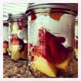 Mason Jar StrawberryShortcake